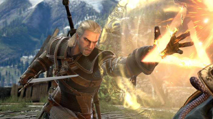 Soulcalibur VI, Geralt di The Witcher sarà tra i personaggi giocabili