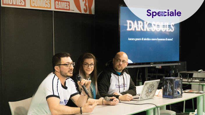 <strong>Conferenza Dark Souls a Cartoomics 2018</strong> - Online il video completo