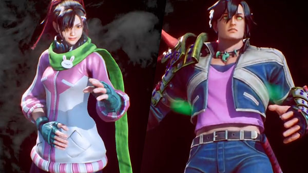 Fighting EX Layer aggiunge Hayate e Nanase
