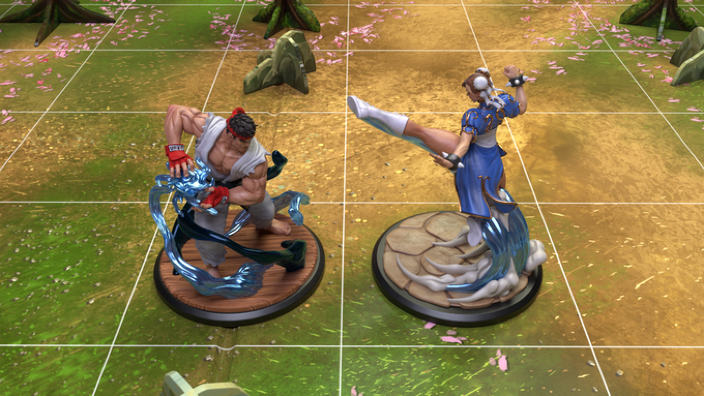 Street Fighter The Miniatures Game disponibile su Kickstarter