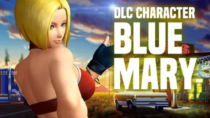 Blue Mary è l'ultimo personaggio DLC di The King of Fighters XIV