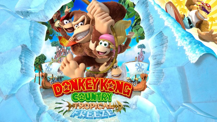 Donkey Kong Country: Tropical Freeze per Switch si mostra in diversi nuovi video