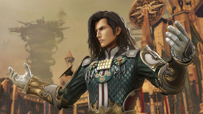 Dissidia Final Fantasy NT, rivelata data e prezzo per Vayne Solidor