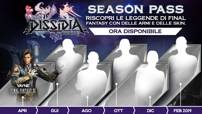 Vayne è disponibile su Dissidia Final Fantasy NT