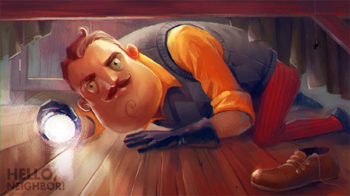 Hello Neighbor arriva anche su PS4, Switch ed Android