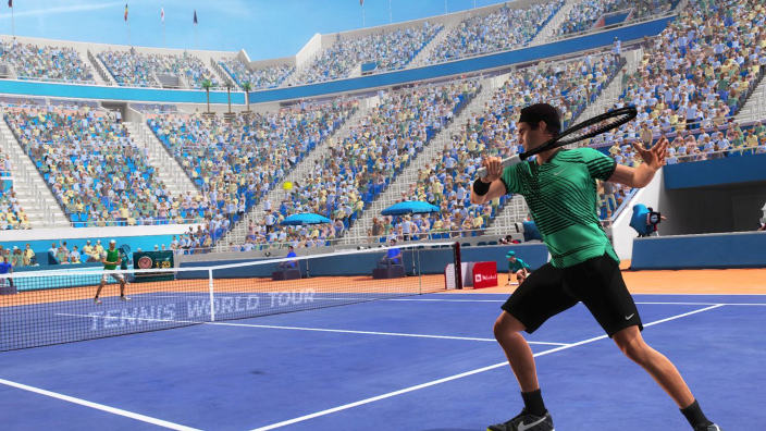 Due leggende si affrontano in Tennis World Tour