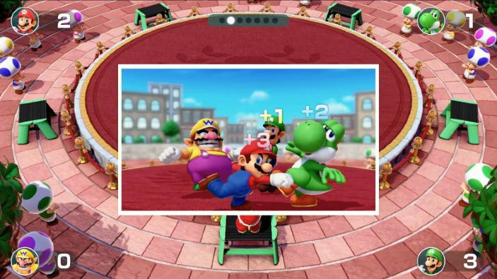 Super Mario Party per Nintendo Switch si mostra in un video gameplay