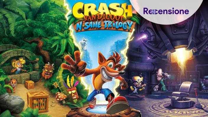 <strong>Crash Bandicoot N. Sane Trilogy</strong> - Recensione Switch