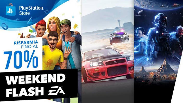 Tornano i saldi del weekend con Electronic Arts sul PlayStation Store