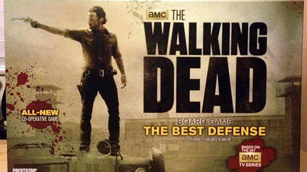 <b>Serie in Scatola</b>: The Walking Dead Board Game - The Best Defense