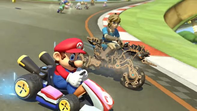 The Legend of Zelda: Breath of the Wild arriva in Mario Kart 8 Deluxe