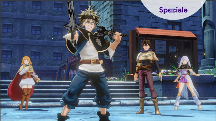 <strong>Black Clover: Quartet Knights</strong> - La prova della closed beta