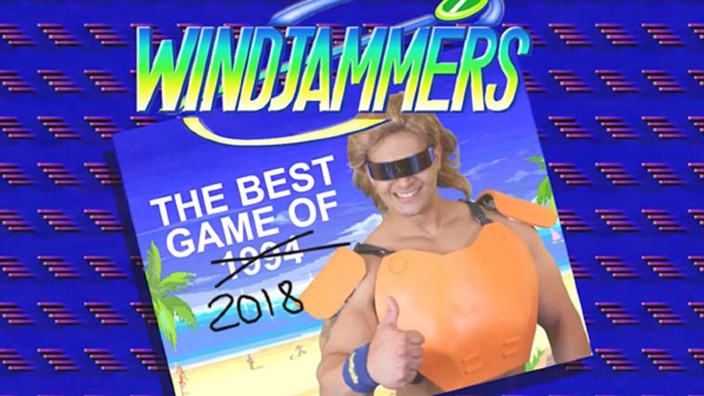 Windjammers arriva su Nintendo Switch