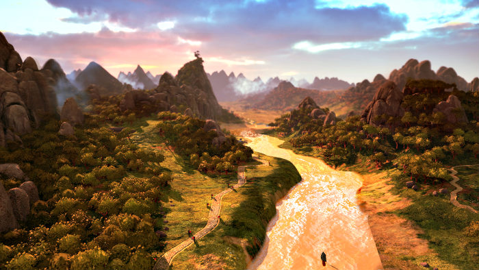 Total War Three Kingdoms mostra la sua mappa con un trailer