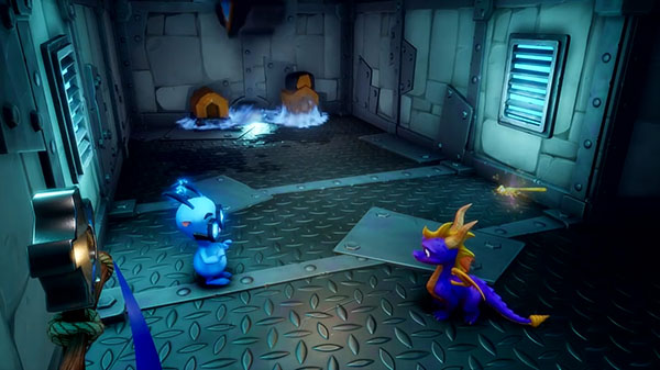 Spyro Reignited Trilogy mostra il gameplay di Hurricos