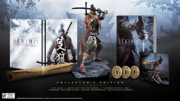 Sekiro: Shadows Die Twice - Ecco la data di uscita e la Collector's Edition