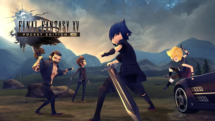 Final Fantasy XV Pocket HD in arrivo su Nintendo Switch