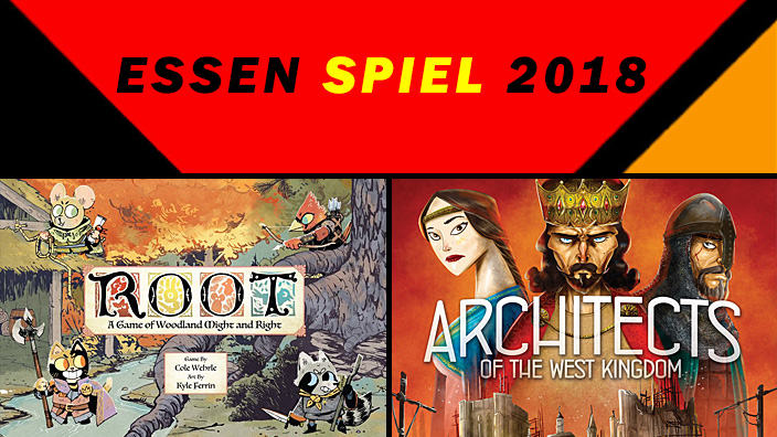 Essen 2018: anteprima di Root e Architects of the West Kingdom
