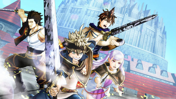 Black Clover Quartet Knights da oggi disponibile