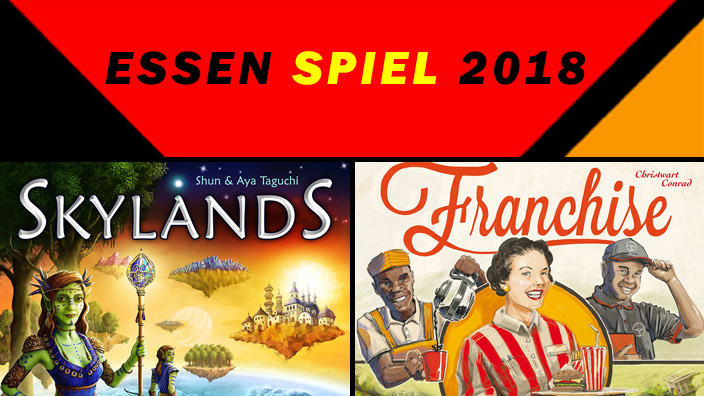 Essen 2018: anteprima di Skylands e Franchise