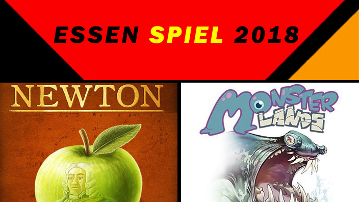 Essen 2018: anteprima di Newton e Monster Lands