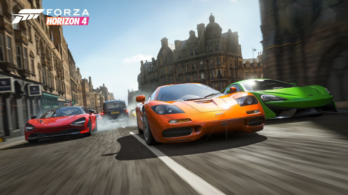 Forza Horizon 4 e Megan Fox, l'accoppiata vincente per le 4 stagioni