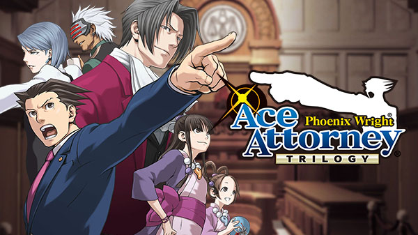 Capcom annuncia Phoenix Wright Ace Attorney Trilogy