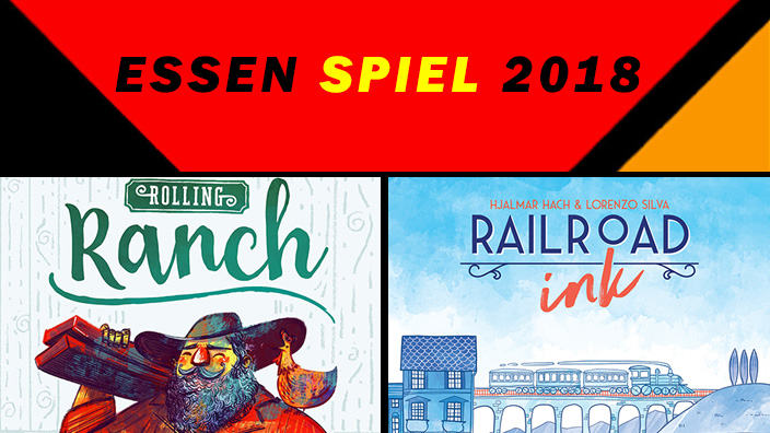 Essen 2018: anteprima di Railroad Ink e Rolling Ranch