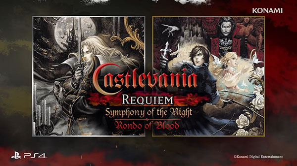 Una collection di Castlevania in arrivo su PlayStation 4