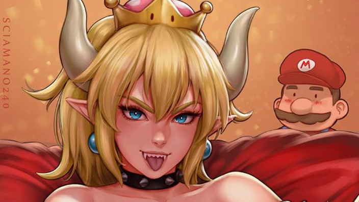 Bowsette: le fanart made in Italy!