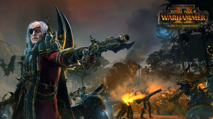 Course of the Vampire Cost arriva su Total War Warhammer II