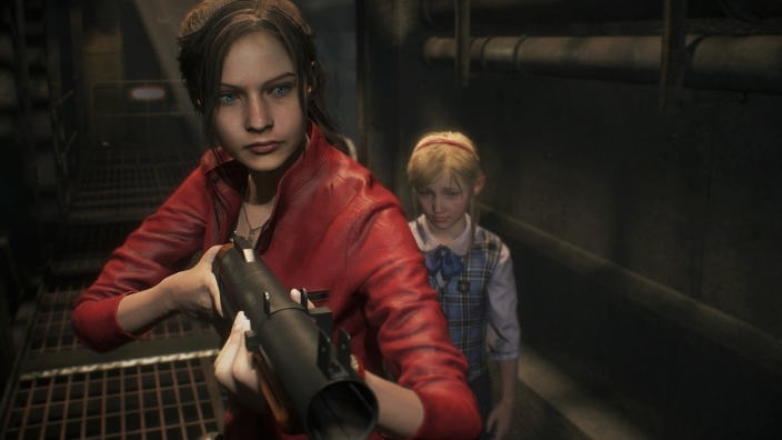 Resident Evil 2, mostrato nuovo gameplay con Claire