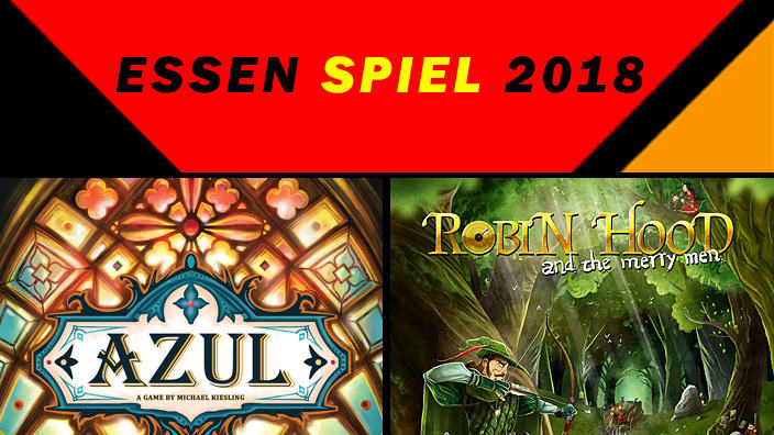Essen 2018: anteprima di Azul: Stained Glass of Sintra e Robin Hood and the Merry Men