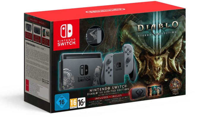 Annunciato un nuovo bundle con Nintendo Switch e Diablo III: Eternal Collection