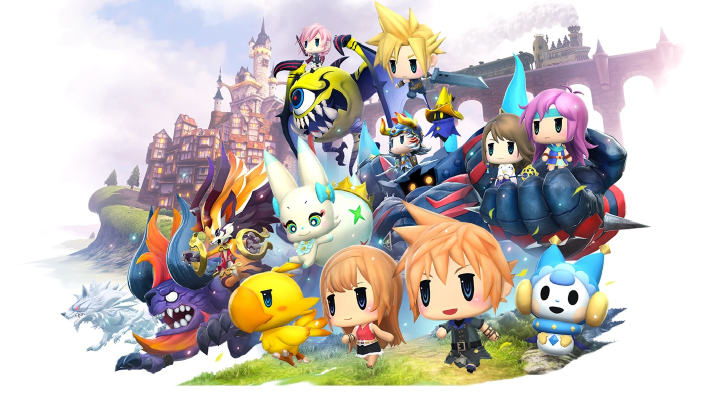 World of Final Fantasy Maxima è disponibile