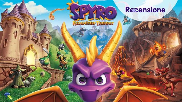 <strong>Spyro Reignited Trilogy</strong> - Recensione