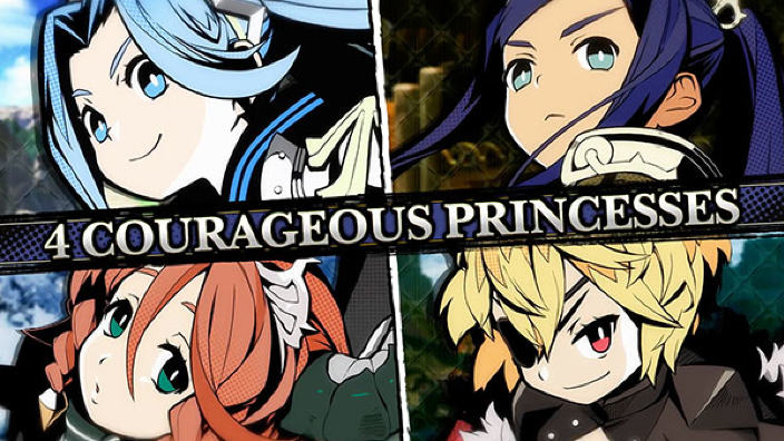 The Princess Guide presenta le quattro principesse in trailer