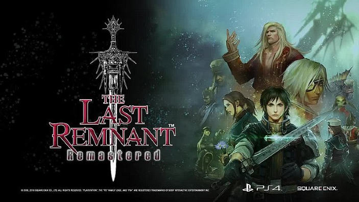 The Last Remnant Remastered è disponibile da oggi su PlayStation 4