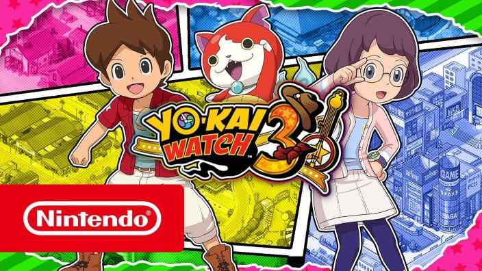 Trailer di lancio per Yo-kai Watch 3