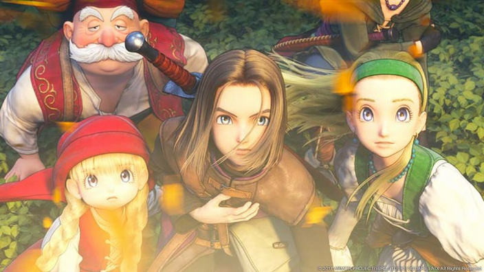 Tema PS4 e avatar PSN di Dragon Quest XI sono ora in regalo