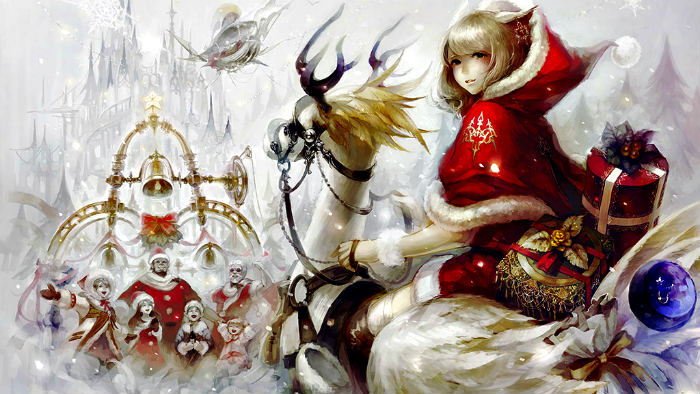 Final Fantasy XIV si prepara all'evento natalizio