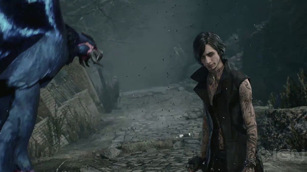 Devil May Cry 5 mostra V nel gameplay trailer