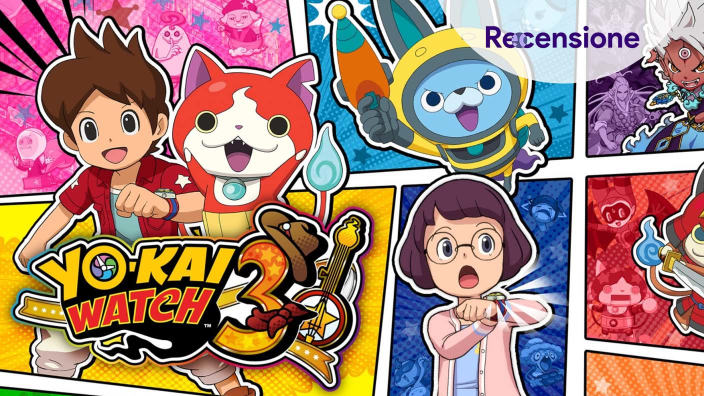 <strong>Yo-kai Watch 3</strong> - Recensione