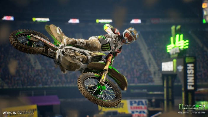 Monster Energy Supercross 2 in un primo video di gameplay