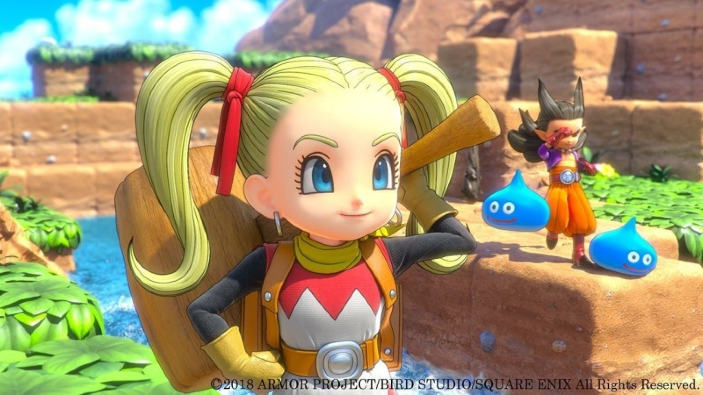 Vendite hardware e software in Giappone (23/12/2018), Dragon Quest Builders 2, Onimusha