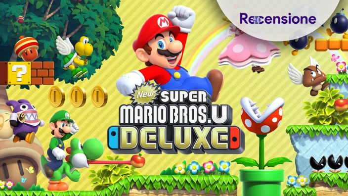 <strong>New Super Mario Bros. U Deluxe</strong> - Recensione