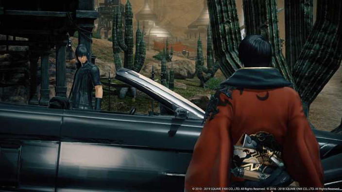 Final Fantasy XIV e Final Fantasy XV uniti per una collaborazione