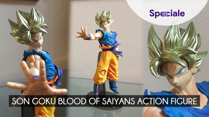 Video Unboxing: Son Goku Blood of Sayans action figure