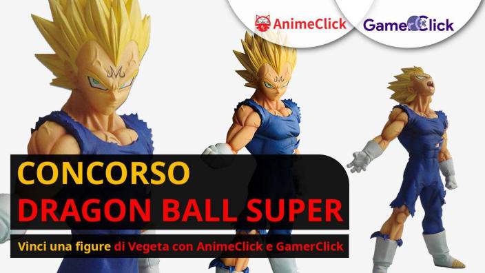 <strong>Concorso Dragon Ball Super</strong>: vinci una figure di Vegeta con AnimeClick e GamerClick