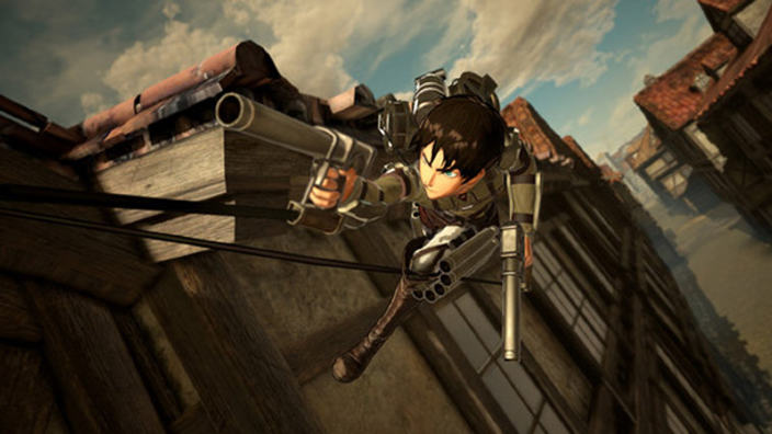 Koei Tecmo annuncia Attack on Titan 2: Final Battle
